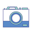 full color digital camera technology equipment vector image