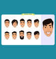 group people business men avatar vector image vector image
