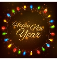 Happy New Year celebration abstract Seasons vector image