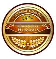 Hummus Black Olive vector image