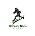 logo american football vector image vector image