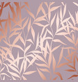 pattern with branches with imitation surface of vector image vector image