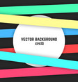 streaky colored background vector image vector image