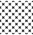 abstract black sakura white pattern image vector image
