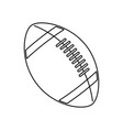 american footbal ball sport equipment vector image vector image