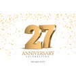 anniversary 26 gold 3d numbers
