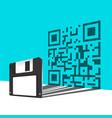 floppy disk vector image vector image