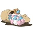 hamster bonbons vector image vector image