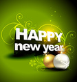 new year and christmas design vector image vector image