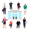 university education concept people of vector image vector image