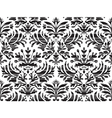 Seamless abstract floral damask background striped vector image
