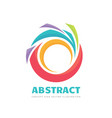 abstract - business logo concept vector image