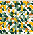 abstract geometric shape pattern background vector image vector image