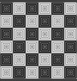 black and white geometric texture vector image