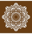 mandala in Oriental style vector image vector image