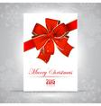 Merry Christmas RGB vector image vector image