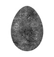 old isolated egg vector image vector image