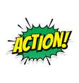 sale action shopping comic text speech bubble vector image vector image