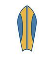 surfboard icon image vector image vector image