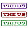 the us watermark stamp vector image vector image