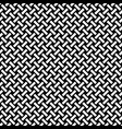 abstract black and white weave pattern imag vector image vector image