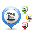 Beach icon vector | Price: 1 Credit (USD $1)