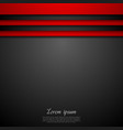Concept dark background vector image vector image