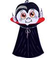 Halloween Vampire Character vector image