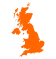 Map of united kingdom vector | Price: 1 Credit (USD $1)