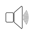 Speaker volume icon vector image vector image