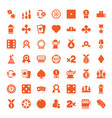 win icons vector image vector image