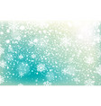 winter falling snow background design element vector image vector image
