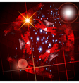Abstract dark lens flare technology background vector image vector image