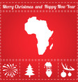 africa icon vector image vector image