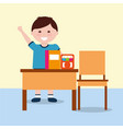 back to school people vector image vector image