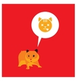 cute hamster vector image vector image