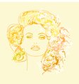 fashion drawing vector image