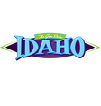 Idaho The Gem State vector image vector image
