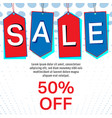 sale labels or tag background special offer color vector image