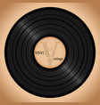 vinyl record retro background vector image