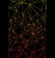bright abstract hand drawing internet cobweb vector image