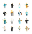 Character Icon Flat vector image vector image