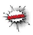 Comic text Bavaria sound effects pop art vector image vector image