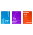 cover colors vector image vector image