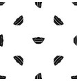 indian spicy pattern seamless black vector image vector image
