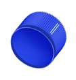 Plastic bottle cap vector image