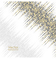 abstract background with yellow and gray dots vector image