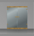 abstract semitransparent magic glow star vector image vector image