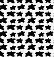 Black marker drawn simple stars vector image