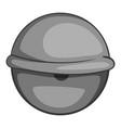 bloodshot eyeball icon monochrome vector image vector image